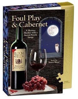 Foul Play & Cabernet (4) Mystery Jigsaw Puzzle