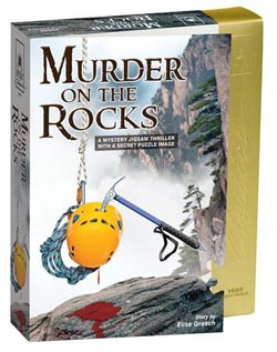 Murder on the Rocks Mountains Jigsaw Puzzle
