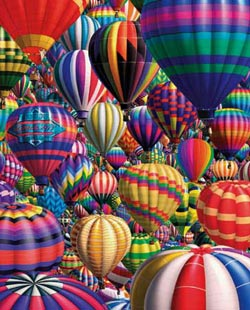 Hot Air - Balloons Balloons Jigsaw Puzzle