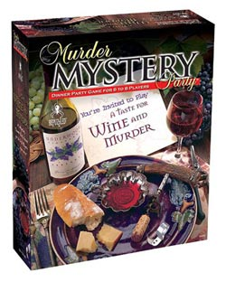 A Taste for Wine & Murder Game Murder Mystery