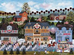 Celebration (Jane Wooster Scott) Americana & Folk Art Jigsaw Puzzle