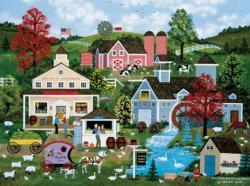 Sweet Corn (Jane Wooster Scott) Americana & Folk Art Jigsaw Puzzle