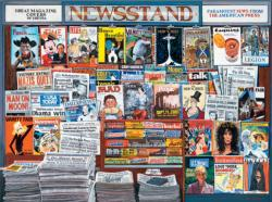 Great Magazine Covers (Ken Keeley) Magazines and Newspapers Jigsaw Puzzle