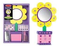Flower Mirror - DYO Flowers Arts and Crafts