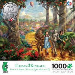 Follow the Yellow Brick Road (Thomas Kinkade WB Movie Classics) Wizard of Oz Jigsaw Puzzle