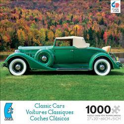 Green (Classic Cars) Nostalgic / Retro Jigsaw Puzzle