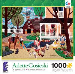 Summertime at Thomas Farm (Quilts ) Summer Jigsaw Puzzle