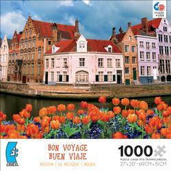 Belgium (Bon Voyage) Travel Jigsaw Puzzle