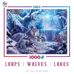 Winter Wolves (Wolves) Winter Jigsaw Puzzle
