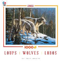 Wildlife (Wolves) Snow Jigsaw Puzzle