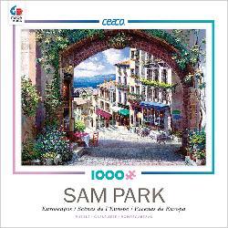Cote d'Azure (Sam Park) Seascape / Coastal Living Jigsaw Puzzle
