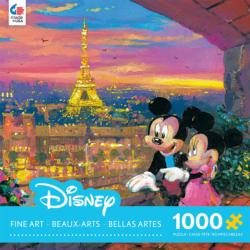 Paris Sunset (Disney Fine Art 1000) Sunrise/Sunset Jigsaw Puzzle