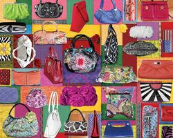 Purses! Purses! Purses! Mother's Day Jigsaw Puzzle