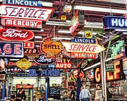 American Icons Nostalgic / Retro Jigsaw Puzzle