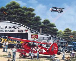 Spirit of Coca-Cola Planes Jigsaw Puzzle