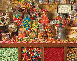 Sweet Shoppe Sweets Jigsaw Puzzle