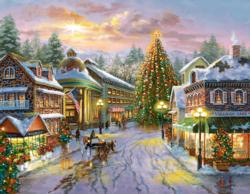 Christmas Eve Snow Jigsaw Puzzle
