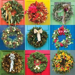 Wreaths Collage Jigsaw Puzzle