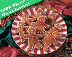 Gingerbread Goodies Sweets Jigsaw Puzzle