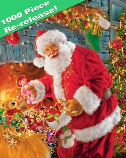 Santa's Return Christmas Jigsaw Puzzle