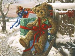 Holiday Delivery Christmas Jigsaw Puzzle
