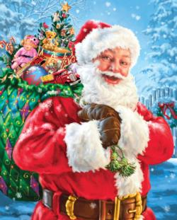 Santa's Magic Bag Christmas Jigsaw Puzzle