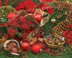 Colors of Christmas Christmas Jigsaw Puzzle