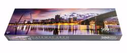 Saint Louis Arch Panoramic United States Panoramic Puzzle