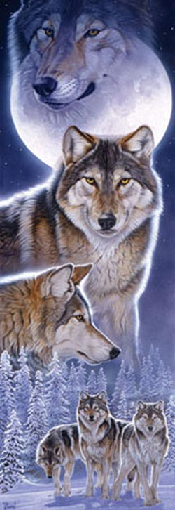 Spirits - Scratch and Dent Wolves Jigsaw Puzzle