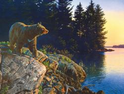 Evening Bear Bears JigsawPuzzle