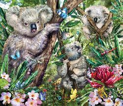 Koalas Bears Jigsaw Puzzle