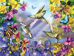 Butterflies & Hummingbirds Butterflies and Insects Jigsaw Puzzle