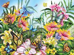 Garden Colors Garden Jigsaw Puzzle