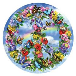 Peace-ful garden Mother's Day Jigsaw Puzzle