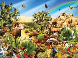 Desert Denizens Wildlife Jigsaw Puzzle