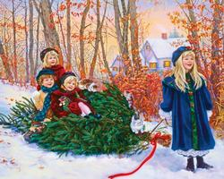 Yuletide Ride Christmas Jigsaw Puzzle