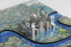 London 4D Cityscape Cities 3D Puzzle