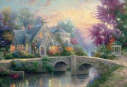 Painter of Light Cottage / Cabin Jigsaw Puzzle