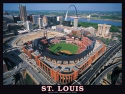 St. Louis Stadium Baseball Jigsaw Puzzle