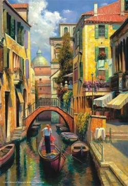 Sunday in Venice Lakes / Rivers / Streams Jigsaw Puzzle