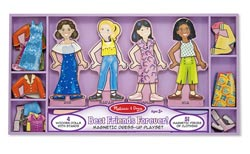 Best Friends Forever! Magnetic Dress-Up People Toy