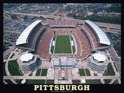 Pittsburgh Stadium Sports Jigsaw Puzzle