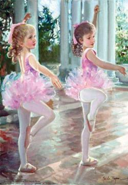 Ballerinas Mother's Day Jigsaw Puzzle