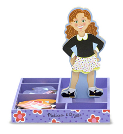 Maggie Leigh Magnetic Dress-Up People Toy