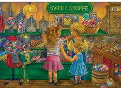 Candy Heaven Sweets Jigsaw Puzzle