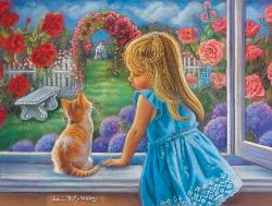 It's a Beautiful World Kittens Jigsaw Puzzle