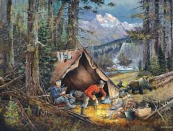 After Dinner Guest Nature Jigsaw Puzzle