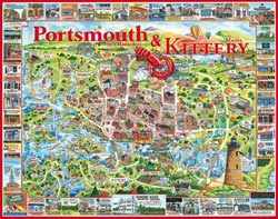Portsmouth, NH & Kittery, ME United States Jigsaw Puzzle