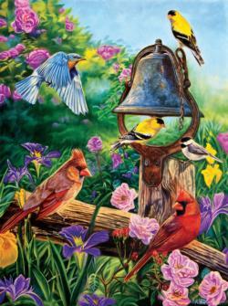 Garden Melodies Birds Jigsaw Puzzle