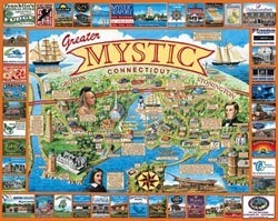 Mystic, CT United States Jigsaw Puzzle